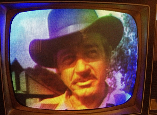 1969 GE Porta Color (Gunsmoke) Screen Shot photographed Nov. 26, 2012
