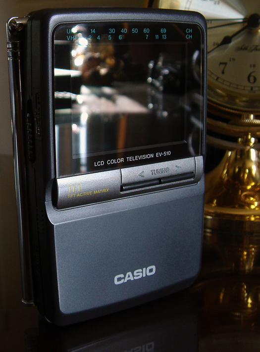 Casio Color EV 510 photographed Mat 2, 2010