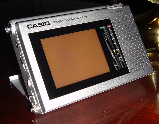 Casio TV 10 photographed August 20, 2010