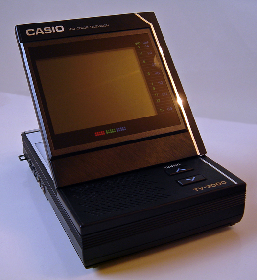 Casio TV 3000 photographed October 5, 2011