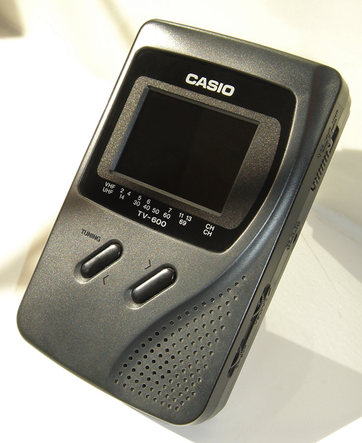Casio TV 600 photographed September 15, 2010
