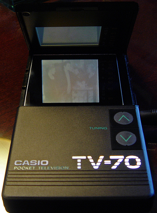 Casio TV 70 Screen Shot photographed August 19, 2010