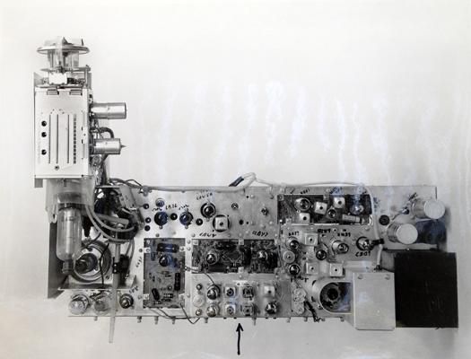 1962 Chromatic prototype Chromatron Tube Chassis