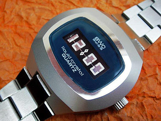 BWC Swiss Optel DSM LCD Watch 1972 Courtesy Crazywatches.pl
