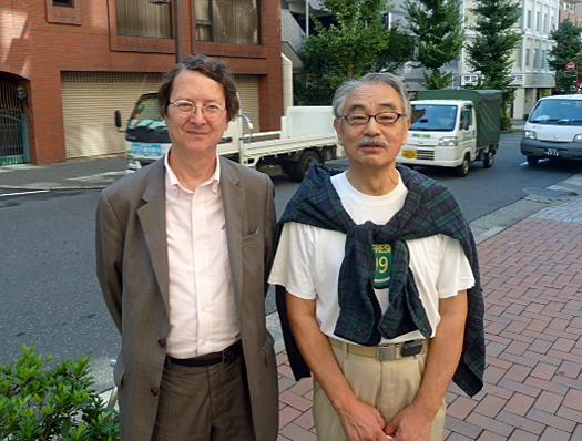 Jerome and Noriyoshi October 10, 2013 courtesy Jerome Halphin