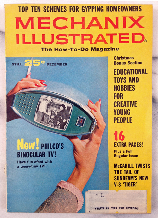 Mechanix Illustrated Magazine December, 1964