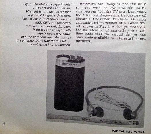 Courtesy of Popular Electronics Magazine