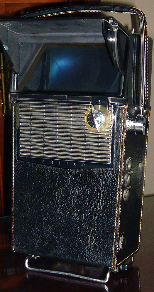 Philco Safari Black photographed May 20, 2010