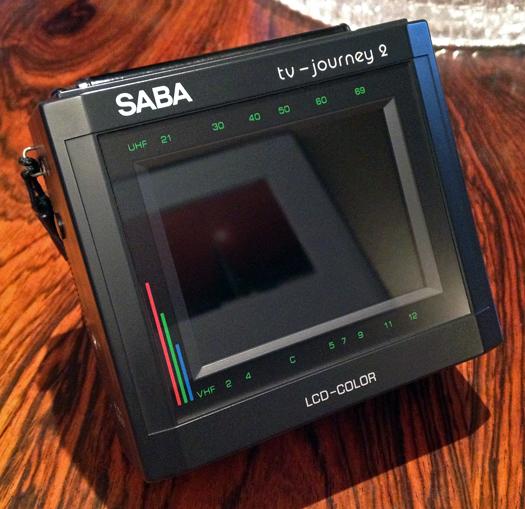 Saba TV Journey 2 photographed April 8, 2013