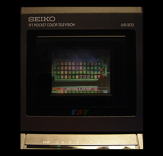 Seiko LVD 202 Screen Shot without back light module