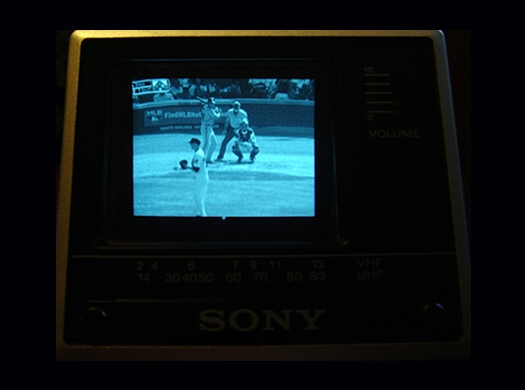 Sony FD 20A Screen Shot photographed August 21, 2010