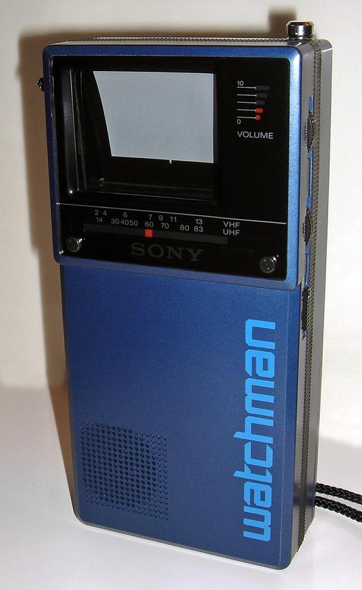 Sony FD 20A Blue photographed January 11, 2011