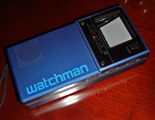 Sony FD 20A Blue photographed January 10, 2011