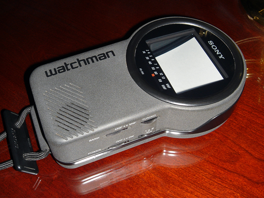 Sony FD 250 Watchman photographed November 5, 2010
