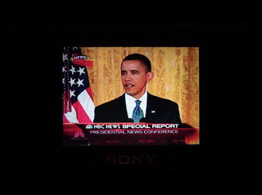 Sony FDL 3500 Screen Shot photographed September 10, 2010