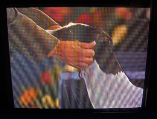 Sony KVX 370 Screen Shot photographed November 24, 2011