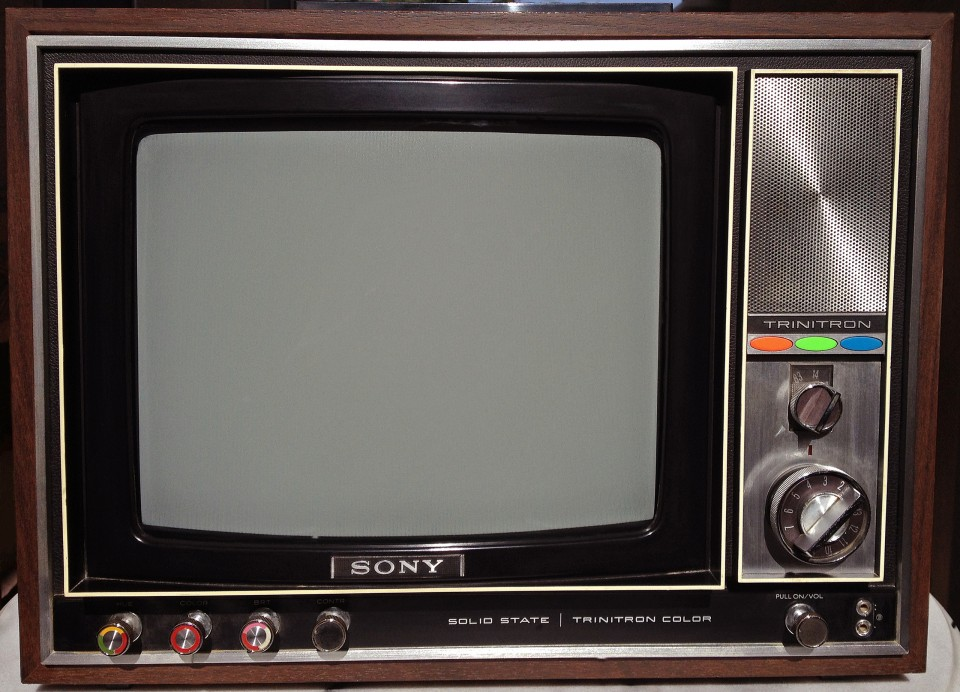Sony KV 1210U photographed May 9, 2013