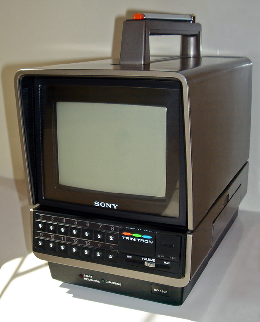 Sony KV 5200 photographed July 30, 2011