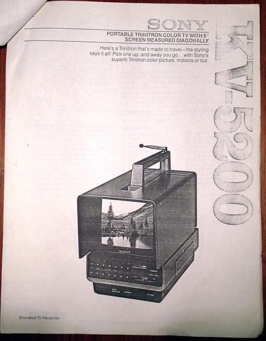 Sony KV 5200