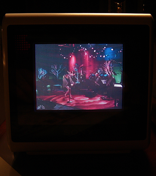 Sony KVX 370 Screen Shot photographed December 16, 2010