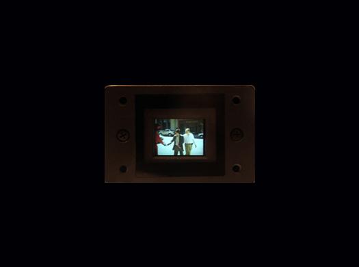 Sony XC 0.75 inch monitor