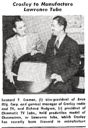 Courtesy Tele-Tech December, 1953