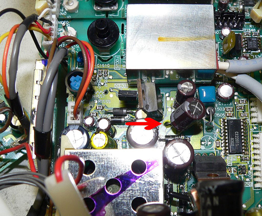 Sony KVX 370 circuit board